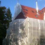 Einhausung - Firma Kautscha Gerüstbau, Meisterbetrieb aus dem Auetal bei Hannover