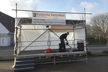 Gerüst - Kautscha Gerüstbau, Auetal / Hannover
