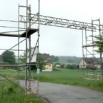 Kabelbrücke - Firma Kautscha Gerüstbau, Meisterbetrieb aus dem Auetal bei Hannover